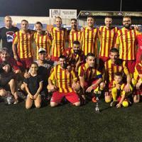 Els veterans del Roquetenc guanyen la Copa, abans de l'inici de lliga.