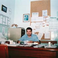 Àngel Cardona. President AMPA 2001