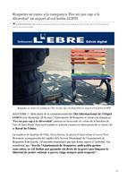 Roquetes se suma a la campanya 'Fes un pas cap a la diversitat' en suport al col·lectiu LGBTI.