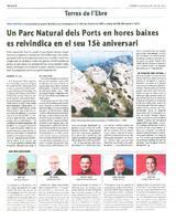 Un Parc Natural dels Ports en hores baixes es reivindica en el seu 15è aniversari.