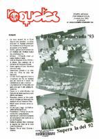 Roquetes: Revista mensual d'informació local, número 98-99, novembre-desembre 1993