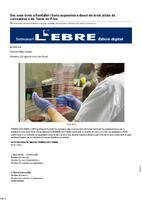 Dos nous brots a Benifallet i Xerta augmenten a disset els brots actius de coronavirus a les Terres de l'Ebre.