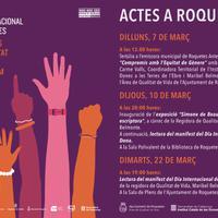 8 de març, Dia Internacional de les Dones.