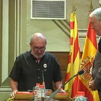 L'alcalde de Roquetes, Francesc Gas, nou diputat provincial.