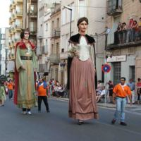 Gegants de Roquetes: Isabel i Gregori