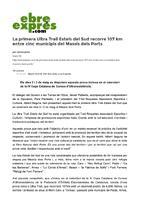 La primera Ultra Trail Estels del Sud recorre 107 Km entre cinc municipis del Massís dels Ports.