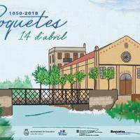 Roquetes celebra 168 anys com a municipi independent amb diversos actes durant tot el mes.