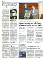 Roquetes commemora els 165 anys de la seua constitució com a poble.