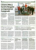 Lluisma Mas y Sandra Burgués se imponen en Campredó.