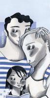 Il·lustració 'Dia de les famílies' d'Ignasi Blanch, 2020