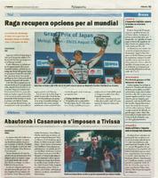 Pau Doñate guanya el 35è Motocròs de Batea
