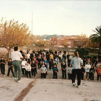Diada de l'Esport a l'Escola Mestre Marcel·lí Domingo de Roquetes, l'any 2000