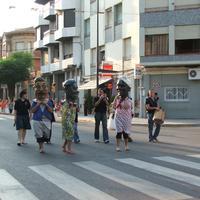 Presentació de les Pubilles de les Festes Majors de Roquetes, l'any 2007