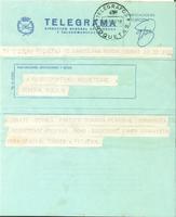 Telegrama per al CD Roquetenc sobre horaris del partit amb el Club Bonavista<br /><br />