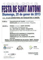 Festa de Sant Antoni 1993-2013