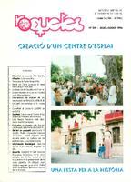 Roquetes: revista mensual d'informació local, número 129, juliol-agost 1996