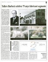 Tallers Barberà celebra 75 anys fabricant segments