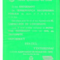 Carnet bus de l'estudiant