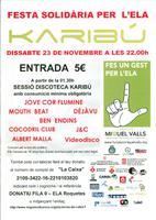 Festa solidària per l'ELA