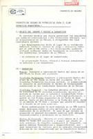 Projecte d'assegurança de futbolistes per al CD Roquetenc, 1983