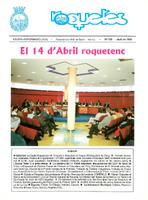 Roquetes: revista mensual d'informació local, número 159, abril  1999