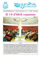 Roquetes: revista mensual d'informació local, número 159, abril  1999