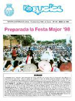 Roquetes: revista mensual d'informació local, número 149, maig 1998