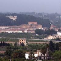 Panoràmica Torre d'en Gil, Centre Cívic i Observatori de l'Ebre.