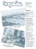 Roquetes: revista mensual d'informació local, número 86, novembre, 1992.
