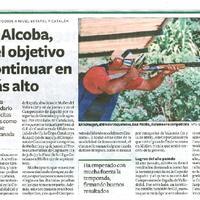 Joan Alcoba, con el objetivo de continuar en lo más alto.