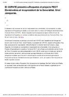 El COPATE presenta a Roquetes el projecte PECT Ebrebiosfera al vicepresident de la Generalitat, Oriol Junqueras.