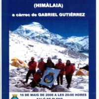 Presentació de la pel·lícula: Terres de l'Ebre al Cho-Oyu (Himàlaia)
