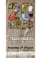 20 anys de l'Hort de la Música.