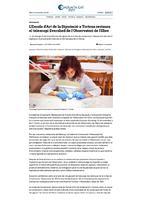L'Escola d'Art de la diputació a Tortosa restaura el telescopi Evershed de l'Observatori e l'Ebre.