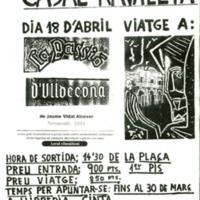 Viatge a la Passió d'Ulldecona: 18 d'abril de 1993: Casal de la Ravalveta