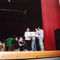 Teatre de l'Escola Mestre Marcel·lí Domingo a l'Auditori Felip Pedrell 2001