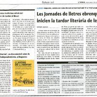 'Llavors de llibertat', un documental sobre la història de l'independentisme, a Roquetes