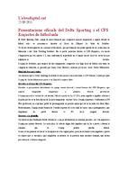 Presentacions oficials del Delta Sporting i el CFS roquetes de futbol sala.