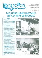 Roquetes: revista mensual d'informació local, número 126, abril 1996