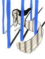 Il·lustració 'Allò que ens toca viure' d'Ignasi Blanch per a Catorze.cat, 2019
