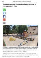 Roquetes remodela l'Hort de Cruells per potenciar-lo com a parc de la ciutat
