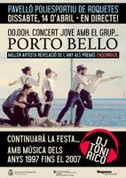 Concert Jove amb el grup Porto Bello.&lt;br /&gt;<br /> Millor artista revelació de l&amp;#039;any als premis Enderrock.