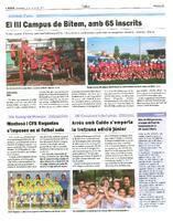 Montesó i CFS Roquetes s'imposen en el futbol sala