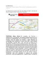 La Generalitat soterrarà l'eix de l'Ebre al barri tortosí de Ferreries per avitar l'impacte al Canalet