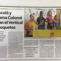 Iu Escolá i Gemma Colomé guanyen el KM Vertical de Roquetes
