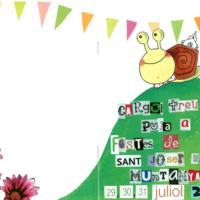 Portada i contraportada programa festes Sant Josep de la Muntanya 2011