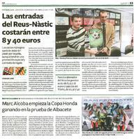 Marc Alcoba empieza la Copa Honda ganando en la prueba de Albacete