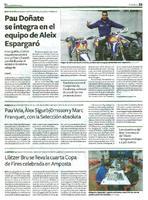 Pau Doñate se integra en el equipo de Aleix Espargaró