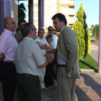 Visita del Vicepresident de la Generalitat de Catalunya, Josep-Lluís Carod-Rovira, l'any 2007