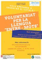 """Voluntariat per la llengua """"Entre-Mots""""."""